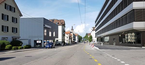 Rorschacher Strasse Haltestelle Grütlistrasse